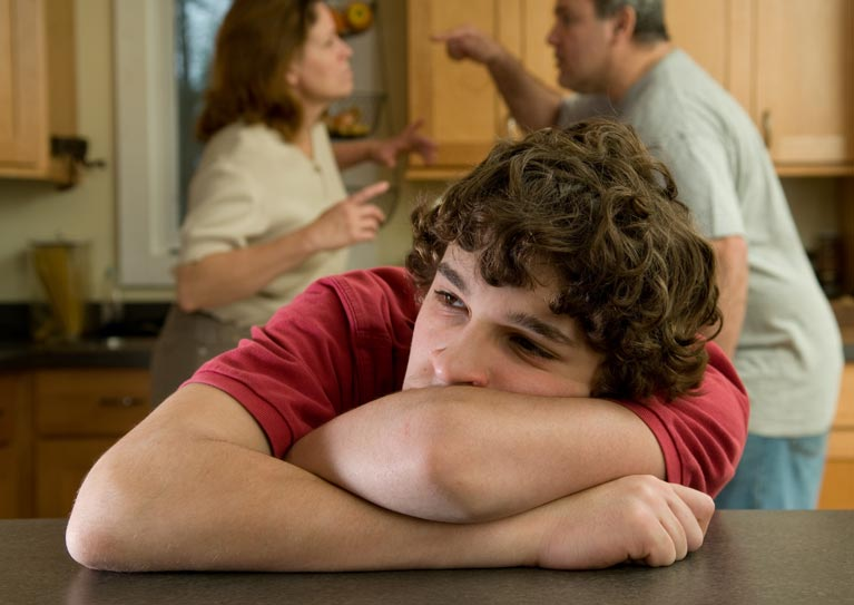 treating teen abandonment and divorce issues